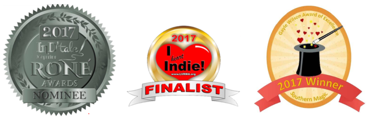 Rone Award Nominee, I Heart Indie Finalist & Gale Wilson Award of Excellence 2017